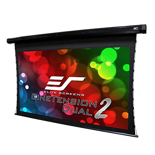 Elite Screens CineTension 2 WraithVeil Dual 2-Directional Front/Rear Projection material100-inch 16:9 TE100HR2-DUAL