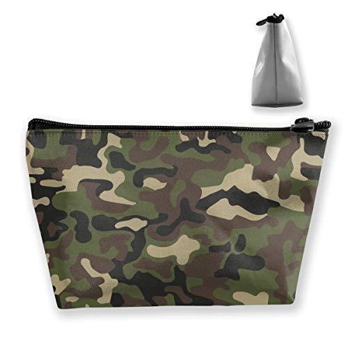 Abstrait Militaire ou Chasse Camouflage Fond de Maquillage Organisateur Trousse de Toilette pour Brosses Crayons Accessoires