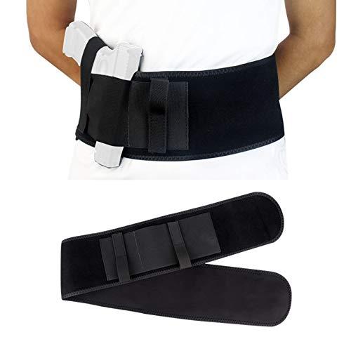 N \ A Funda para cinturón para el Vientre para Transporte Oculto - Funda de Neopreno Transpirable para la Cintura para Hombres y Mujeres para la mayoría de Pistolas y revólveres
