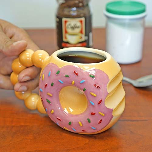 Fairly Odd Novelties DONUT TOUCH MY COFFEE Mug Fairly Odd Novelties-12oz Ceramic