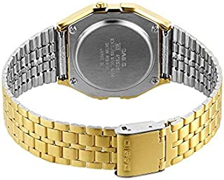 Casio Women's Digital Dial Gold Tone Stainless Steel Watch - A159WG-9