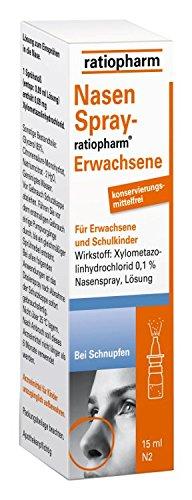 NASENSPRAY-ratiopharm 15 ml für Erwachsene und Schulkinder frei v. Konservierungsmittel