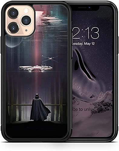 Star Wars case Darth Vader Compatible with iPhone 12 Pro Max Mini 11 XR X 7 8 Plus SE Samsung Galaxy S20 S10 S9 S10e Plus Note 9 10 20 Ultra Google Pixel 3 3a XL 4 TPU SN (iPhone 12/12 Pro)