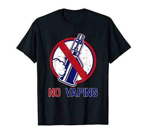 No Vaping design Anti Vape T-Shirt