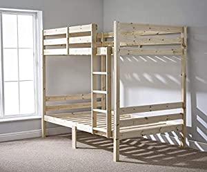 Strictly Beds and Bunks - Classic Bunk Bed, 4ft 6 Double
