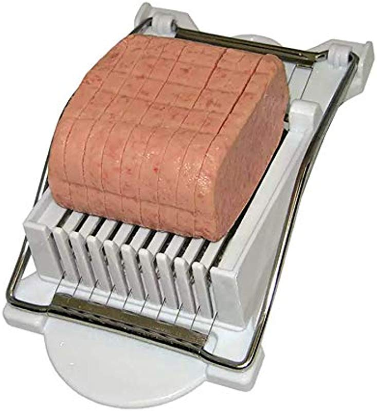 Update International LMS PP Stainless Steel Luncheon Meat Slicer Set Of 6