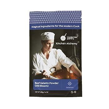 Pure Beef Gelatin Powder  250 Bloom  ⊘ Non-GMO ❤ Gluten-Free - 400g/14oz