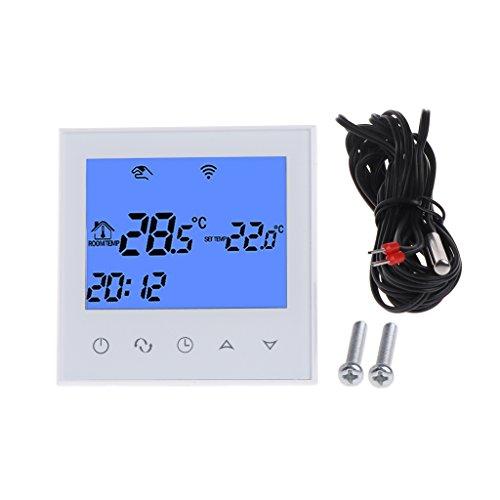 WiFi thermostaat afstandsbediening elektrische vloerverwarming 12/16 A touchscreen