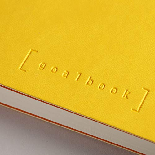 Rhodia Goalbook Journal, A5, Dotted - Daffodil Yellow Photo #2