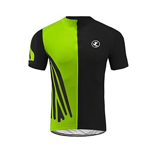 Uglyfrog Männer Kurzarm Radfahren Jersey Top Bike Fahrrad T-Shirt Breathable Quick Dry