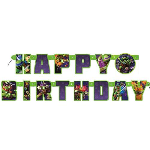 Teenage Mutant Ninja Turtles 5.5ft Birthday Banner