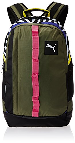 PUMA Rucksack PY Fresh Backpack - Mochila, color verde, talla 29 x 48 x 21 cm