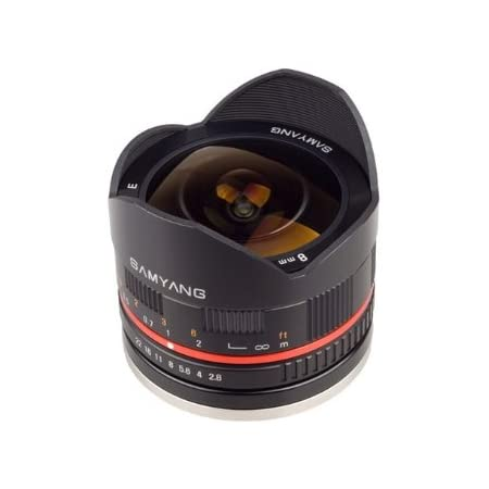 Samyang 8 Mm F2 8 Umc Fisheye Ii Objektiv Für Canon Kamera