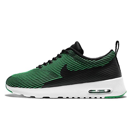 Nike Damen W Air Max THEA KJCRD Fitnessschuhe, Black (Schwarz/Schwarz-Weiß-Blatt-Frühling), 38.5 EU