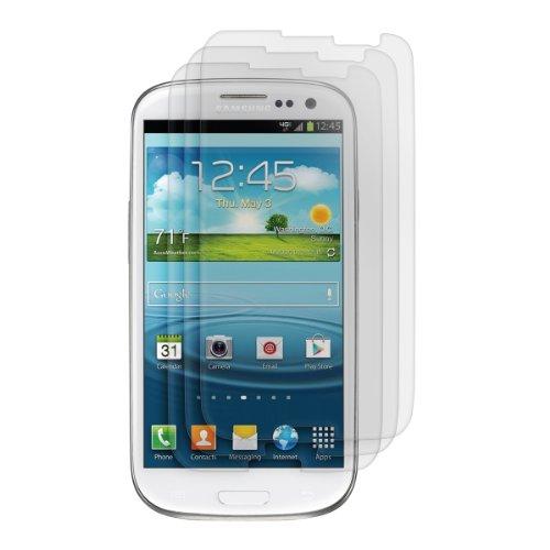 kwmobile 3X Folie matt kompatibel mit Samsung Galaxy S3 / S3 Neo - Bildschirmschutzfolie Schutzfolie - Bildschirmschutz Bildschirmfolie entspiegelt