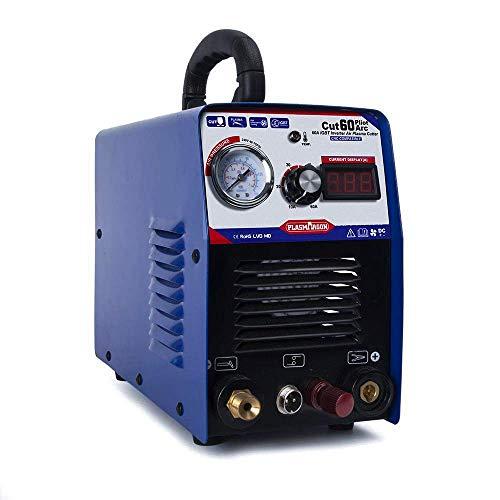 Cortadora de plasma Pilot Arc 60 Amps 220V IGBT DC Inverter Air Plasma Cutting Machine...