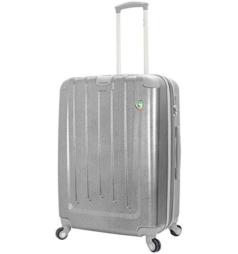 Mia Toro Orta Spinner L Suitcase 70 cm, 77 litres, Silver