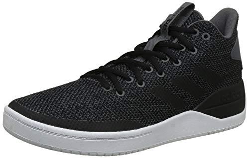 adidas B-Ball 80s, Scarpe da Basket Uomo, Nero (Cblack/Cblack/Carbon Cblack/Cblack/Carbon), 44 EU