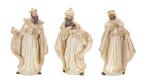 Melrose Resin Wisemen Set of 3, 10.25 Inches Height