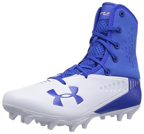 Under Armour Men's Highlight Select MC Football Shoe, Team Royal (400)/White, 6.5