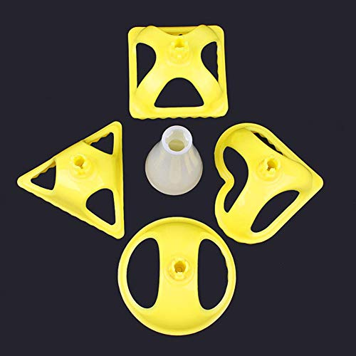 Oumefar Wonton Werkzeugmaschinen-Knödelform Einfach zu bedienende Knetknödelmaschine für den Restauranthaushalt