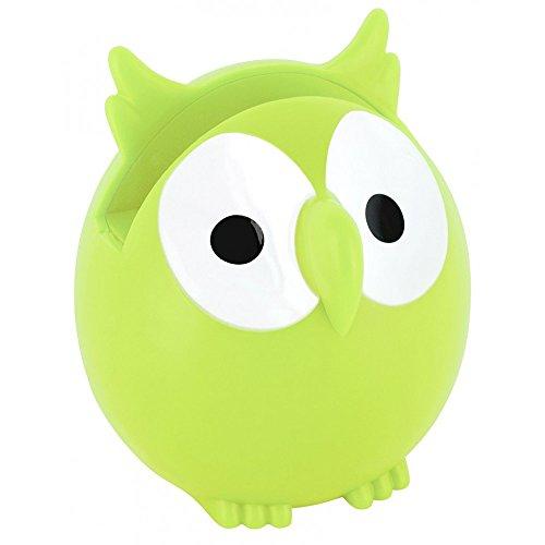 Pylones Eye Glasses Holder Owl, Green by Pylones