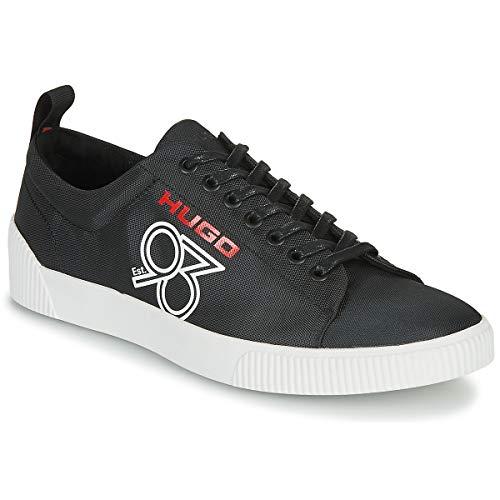 Hugo Sneakers Zero_Tenn_TX93 aus gewebtem Nylon mit Hugo '93