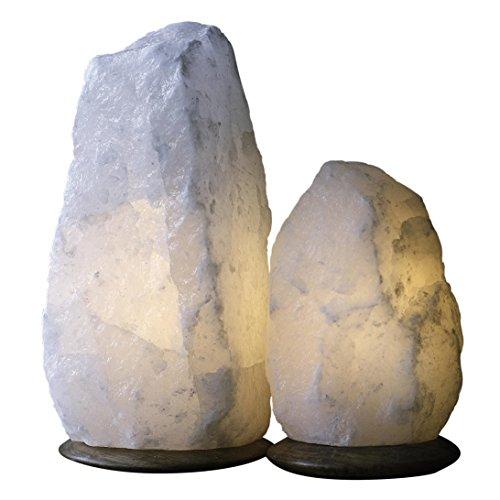 Magic Salt ® Rare Natural White Himalayan Salt Lamp 7-9 KG ,Fine...
