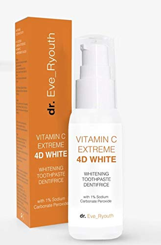 Vitamin C Extreme 4D White Toothpaste - Teeth Whitener