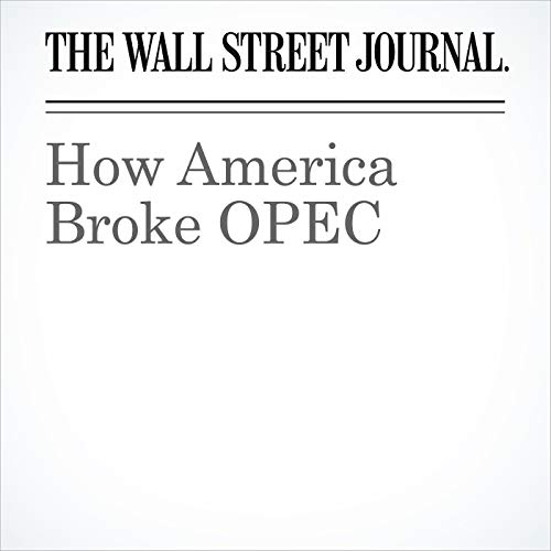How America Broke OPEC audiobook cover art
