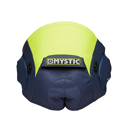 2020 Mystic Aviator Seat Harness - Navy/Lime L