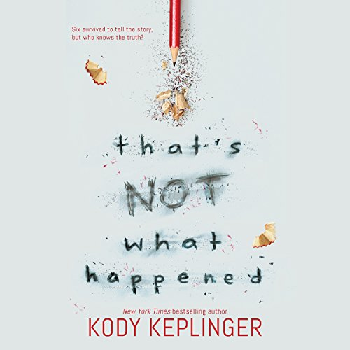 That's Not What Happened audiobook cover art