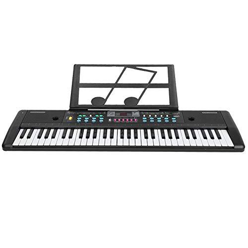 Efecto de sonido de percusión de teclado electrónico 8 Instrumento de música digital Instrumento de música de piano 61 teclas para principiantes