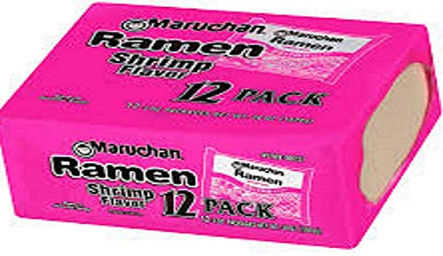 Maruchan Ramen Noodle Soup _Shrimp Flavor 12 packs