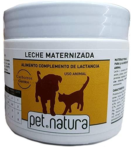 Pet Natura Latte maternità integratore allattamento cani cuccioli e gatti gatti barattolo 500 g
