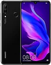 Huawei P30 Lite Smartphone(128GB, 6GB RAM) 6.15 inch Kirin 710 Octa Core,AI Triple Camera,32MP Selfie 4Cameras,Dual SIM US+Latin 4G LTE GSM Factory Unlocked-International Version(Magic Night)