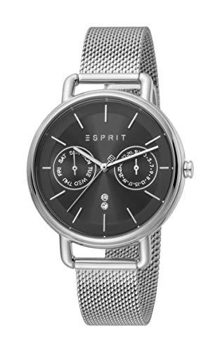 Esprit Multifunktionsuhr mit Mesh-Armband