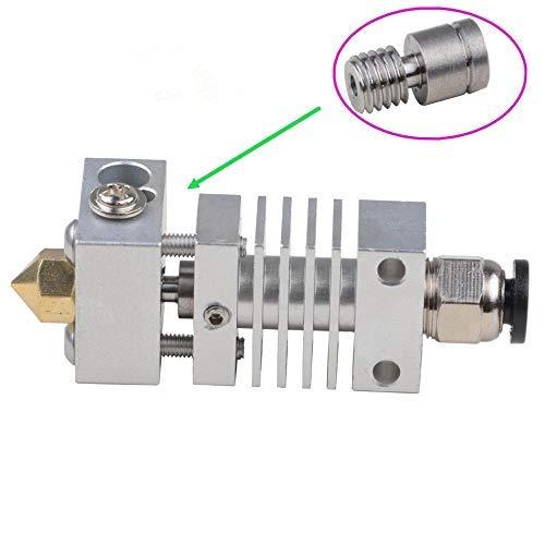 Impresora 3D CR-10 de 1,75 mm con aleación de titanio Hotend extrusor Kit para boquilla de 0,4 mm