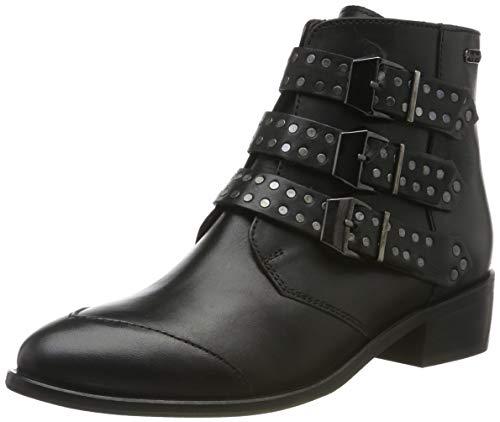 Pepe Jeans London Damen CHISWICK LESSY Stiefeletten, Schwarz (Black 999), 40 EU
