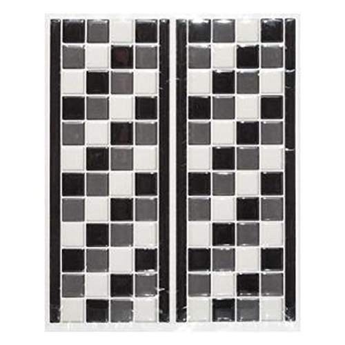 Stick'N Look - Sticker Carrelage Petite Frise 12x30cm Noir
