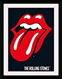 1art1 Rolling Stones Poster De Collection Encadré - Lips (40 x 30 cm)