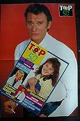 TOP 50 042 DECEMBRE 1986 ELSA DESIRELESS DURAN DURAN MARC LAVOINE + POSTERS EURYTHMICS JOHNNY HALLYDAY