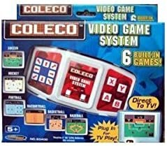5Star-TD Coleco 6 Baltimore Mall in 1 Indianapolis Mall Video N System Play Game Plug