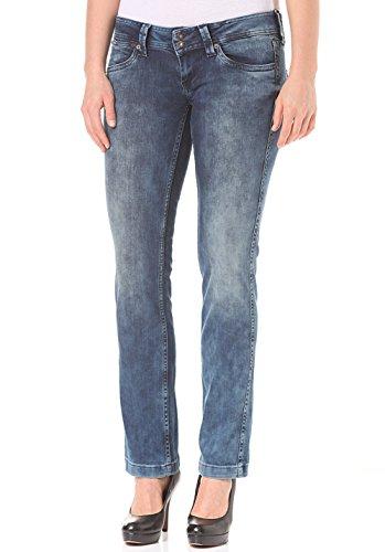 Pepe Jeans Banji Damen Hose, Farbe:Blau, Kleidungsgröße:25/32