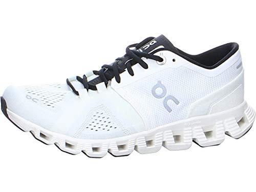 On Running W Cloud X Weiß, Damen Laufschuh, Größe EU 40 - Farbe White - Black