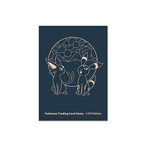 Pokemon Card Sleeves Espeon & Umbreon Starry Constellations image