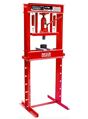 Sunex Fully-Welded Manual Hydraulic Shop Press