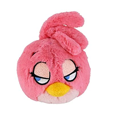 Angry Birds Plush 5-Inch Girl Pink Bird with Sound