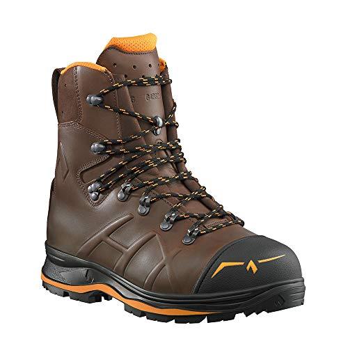 Haix 602018 Trekker Mountain 2.0 - Botas de trabajo para motosierra, color Marrón, talla 45 1 3 EU
