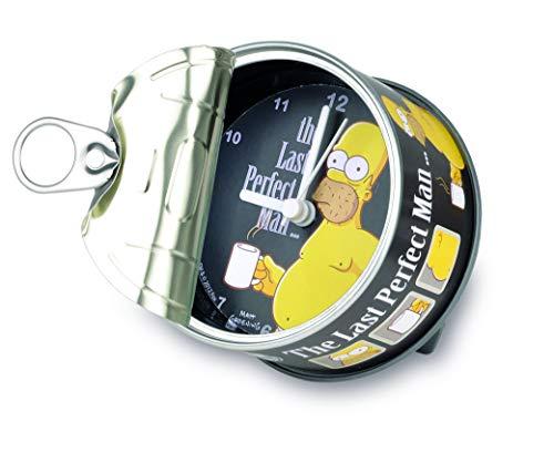 My Clock MyClock Personalisierbare Uhr, Foto-Geschenk, Bilder-Rahmen, Souvenir, Magnet, Lustiges Gadget - Homer Simpson